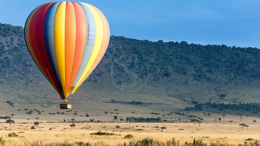Survol en montgolfière dans le Masai Mara, Safari en ballon dans le Masai Mara, Kenya