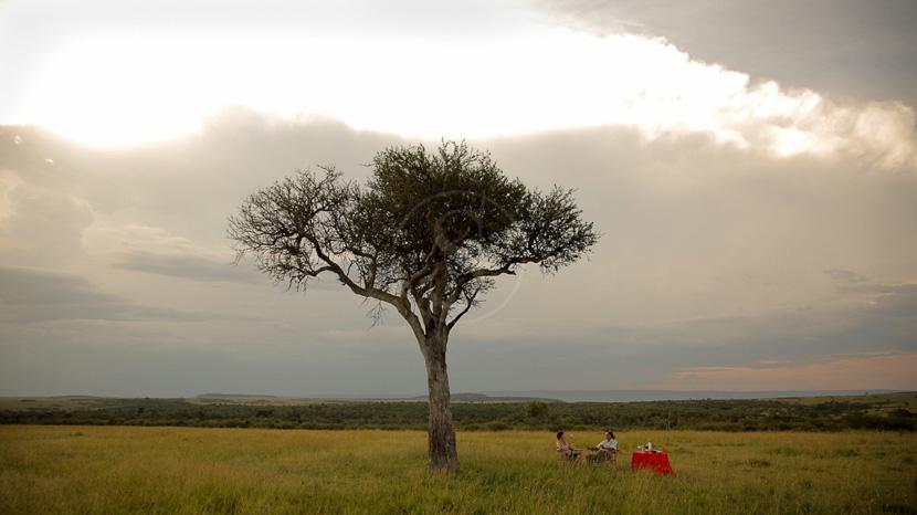 Safari à pied dans le Masai Mara, Main Naibor Camp, Masai Mara