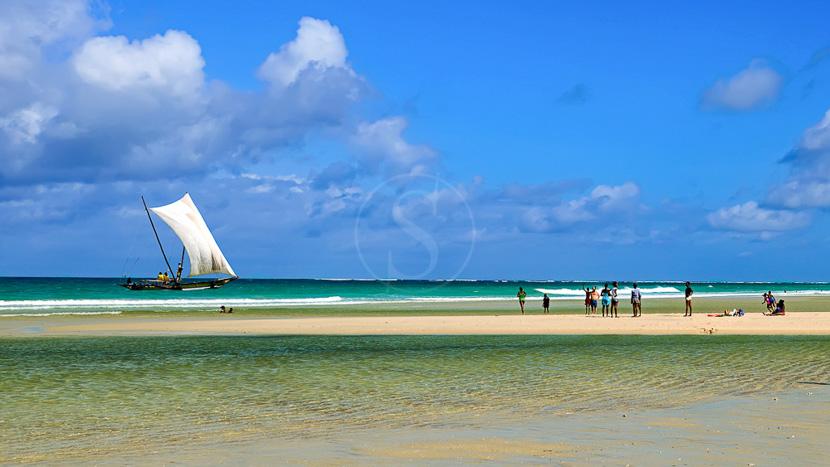 Les plages de l'océan Indien, Diani Beach, Kenya