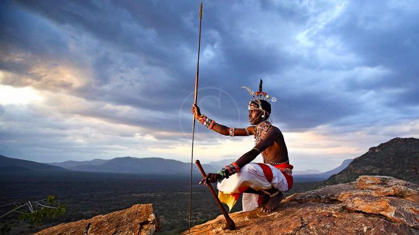 Le peuple Samburu, Saruni Samburu, Kenya