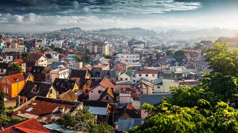 Visite d'Antananarivo, Antananarivo, Madagascar