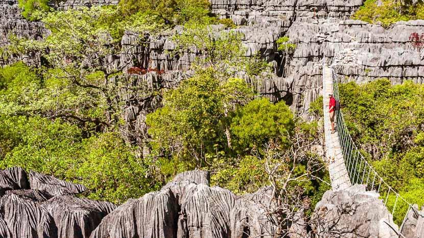 Excursion au parc national de la Montagne d'Ambre , Ankarana, Madagascar