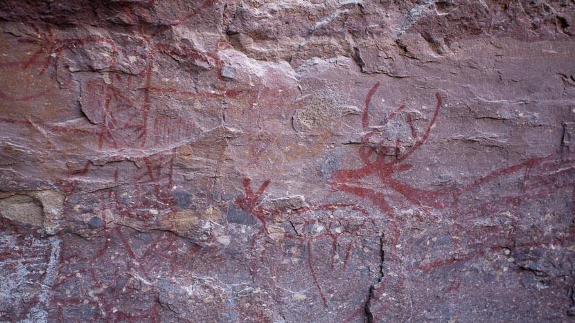 Art rupestre en Basse-Californie, Basse Californie, Mexique © Laurent Guillot