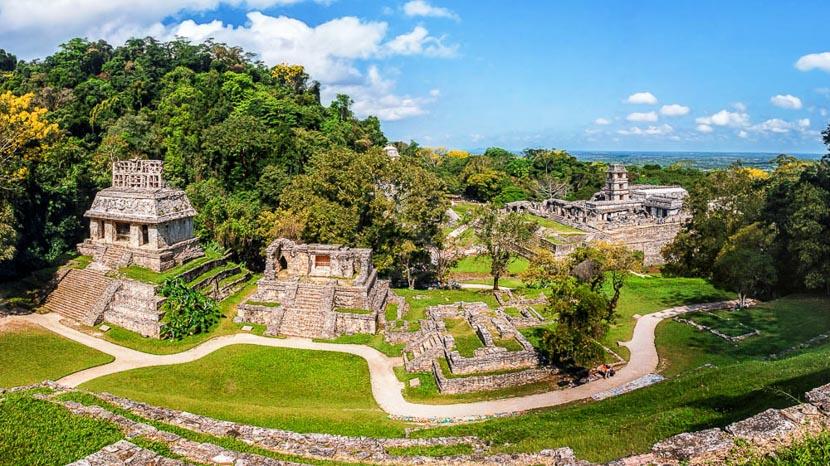 Palenque, cité Royale, Palenque, Mexique