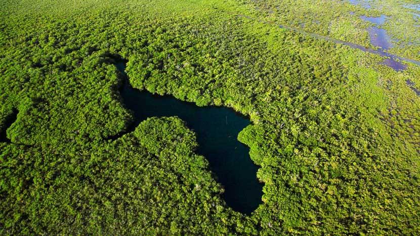 Réserve de la biosphère Sian Ka'an, Sian Ka'an, Mexique