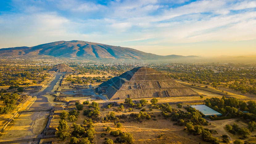Excursion Teotihuacan, Site de Teotihuacan, Mexique © Shutterstock