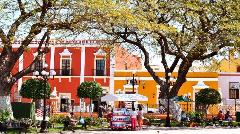Les villes coloniales au patrimoine mondial, Campeche, Mexique