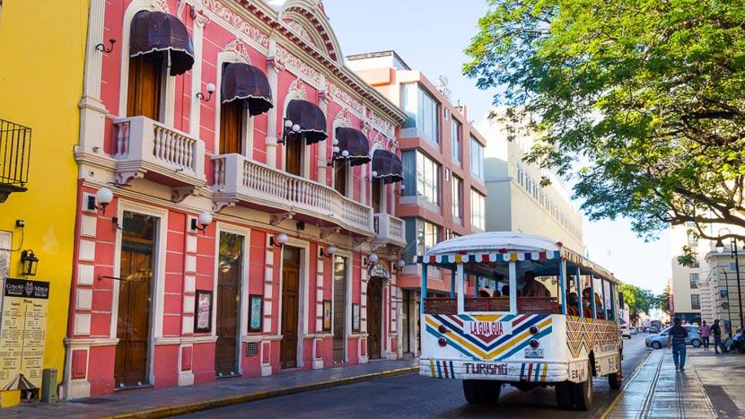 Les villes coloniales au patrimoine mondial, Merida, Mexique