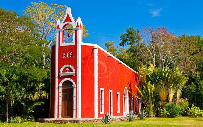 Les villes coloniales au patrimoine mondial, Hacienda Santa Rosa, Mexique