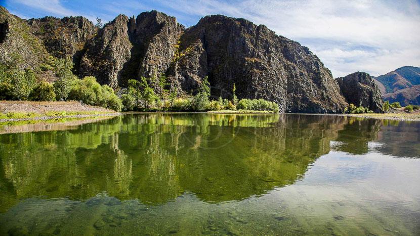 Excursion aux Tsutgalan Cliffs depuis le Five Rivers Camp, Tsutgalan Cliffs, Mongolie