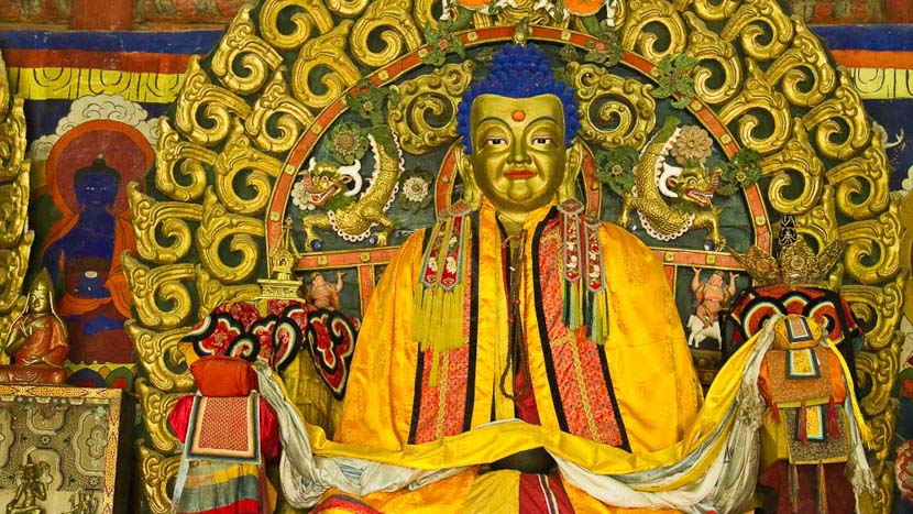Visite du monastère bouddhiste d'Erdene Zuu, Karakorum et le Monastère d'Erdene Zuu, Mongolie