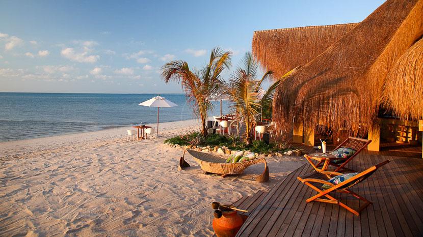 Barefoot luxury, Azura Lodge Benguerra, Mozambique
