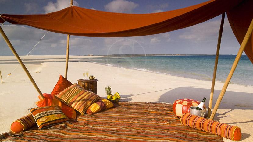 Barefoot luxury,