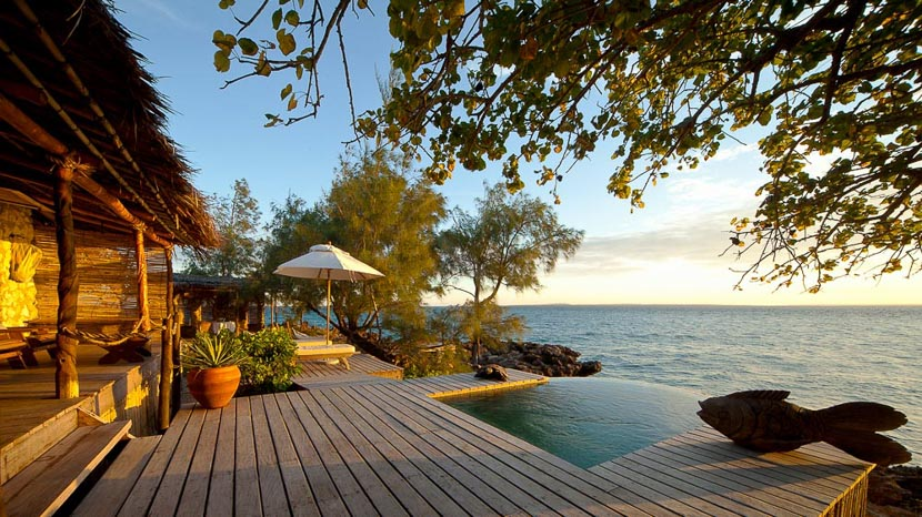 Barefoot luxury, Villa Quilalea, Mozambique
