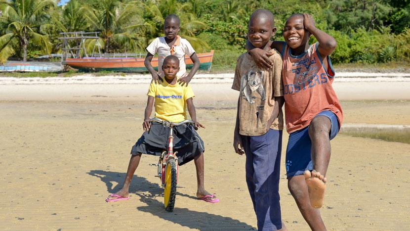 Rencontre avec les Mozambicains, Vilanculos, Mozambique
