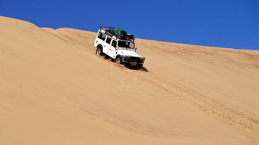 4x4 à Sandwich Harbour, Excursion en 4x4 dans les dunes, Namibie