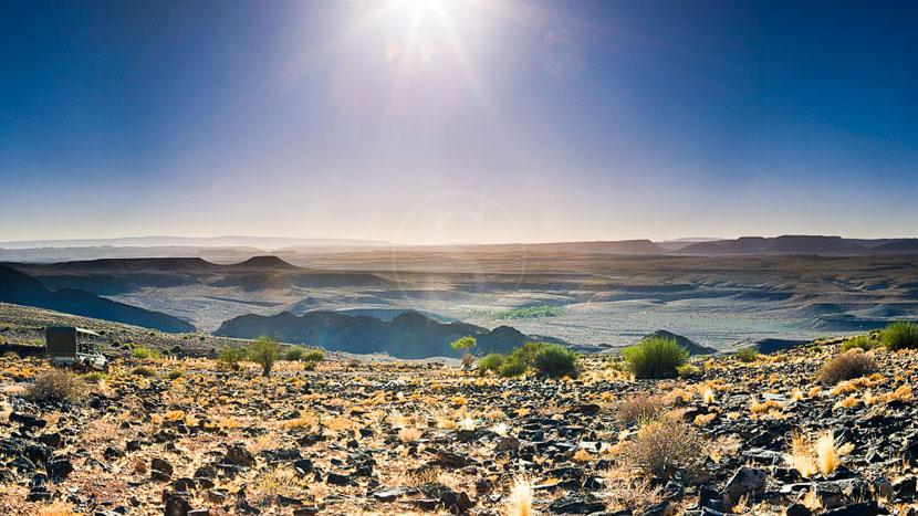 Randonnée de 5 nuits au Canyon River Lodge, Fish River Lodge, Namibie
