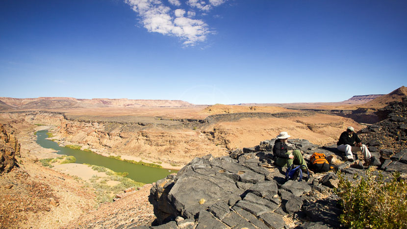 Fish River Canyon, Fish River Lodge, Namibie