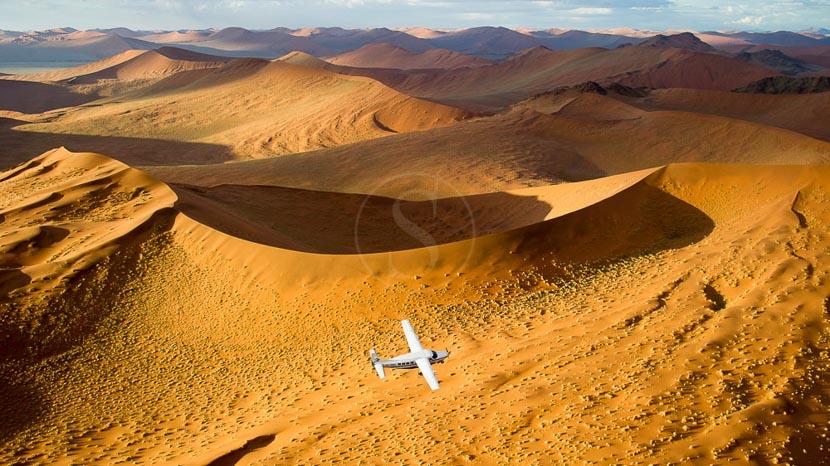 La Namibie vue du ciel, Flyin Safari en Namibie © Dana Allen - Wilderness