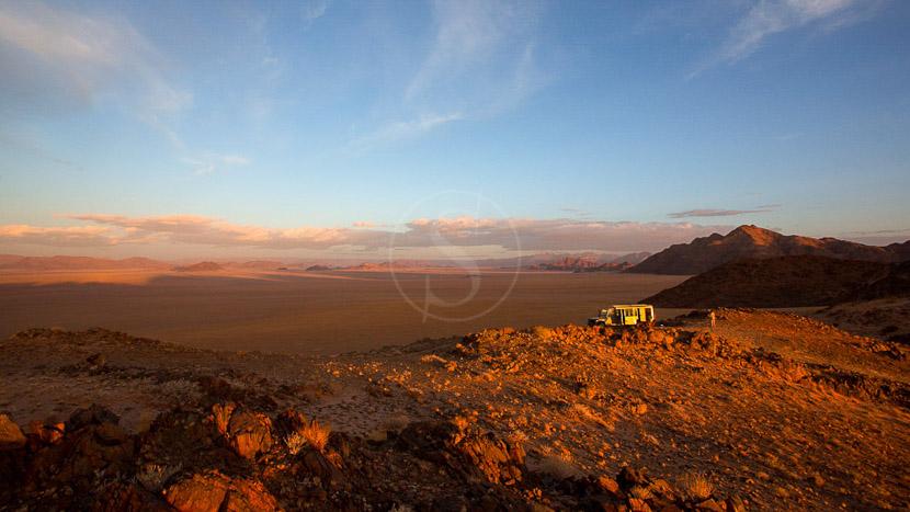 La Namibie vue du ciel, Kulala Desert Camp, Namibie © Dana Allen - Wilderness
