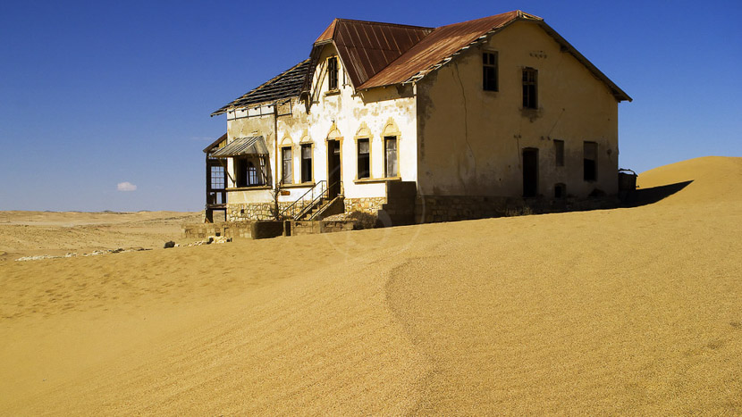 Kolmanskop, Safari en Namibie