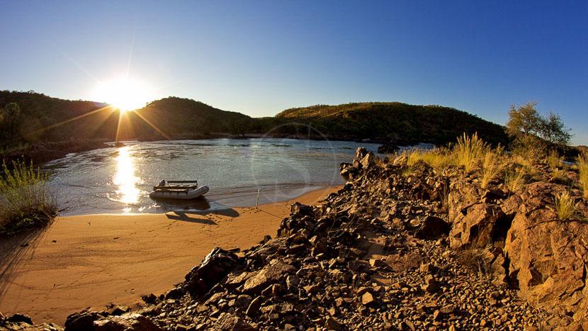 Kunene, Kunene River Lodge, Namibie