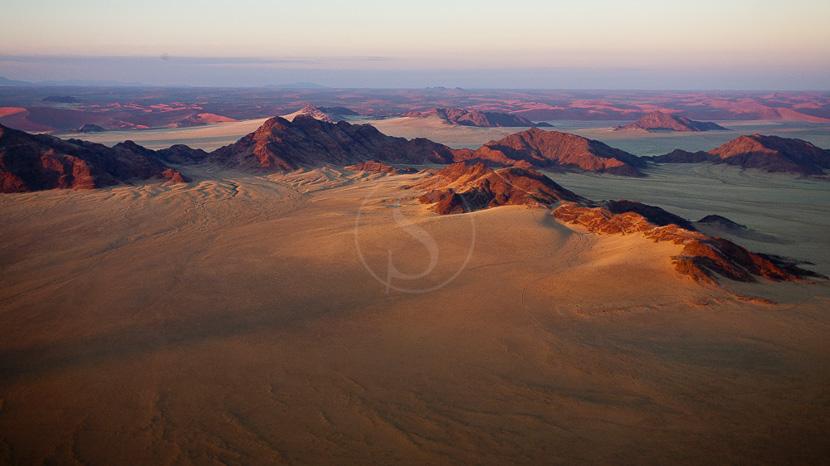 Parc national de Namib-Naukluft, Survol du Namib en ballon, Namibie