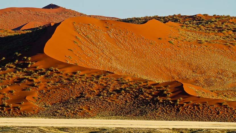 Sesriem, Survol du Namib en ballon, Namibie
