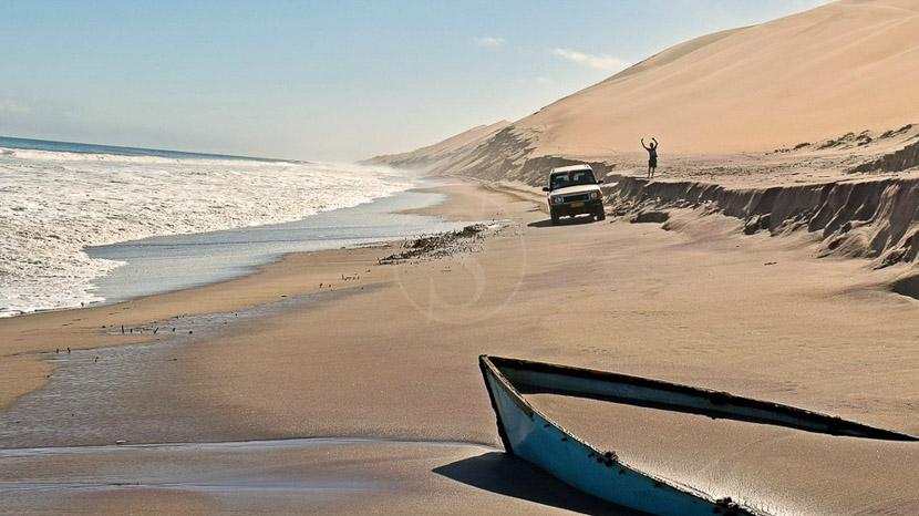 Côte des Squelettes, Excursions à Sandwich Harbour, Namibie © SH. 4x4