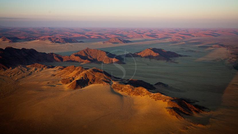 Survol du désert en montgolfière, Survol du Namib en ballon, Namibie