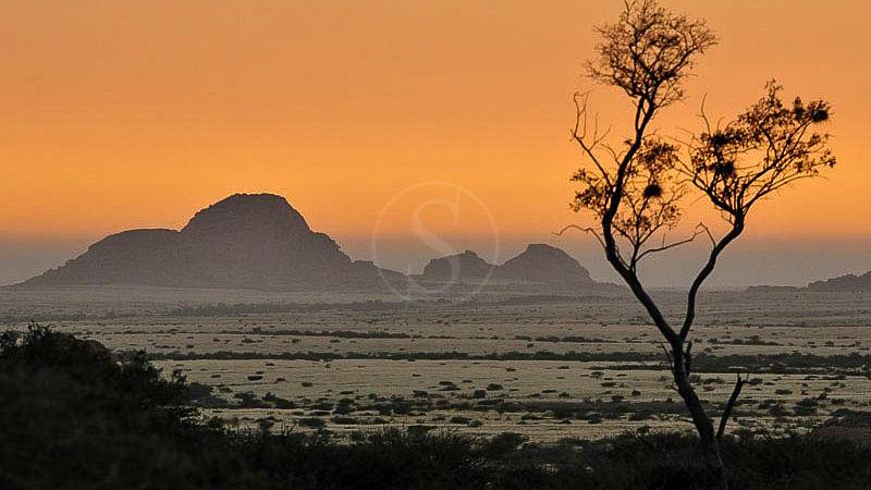 Spitzkoppe, Spitzkoppe Lodge, Namibie
