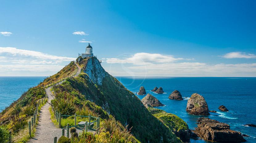 Dunedin et péninsule d'Otago, Bay of Islands, Nouvelle Zélande © Shutterstock