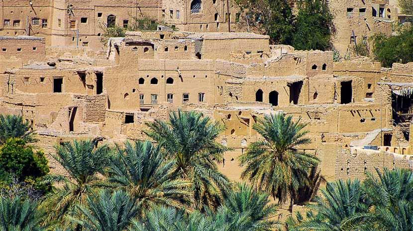Al Hamra, Village de Al Hamra, Oman