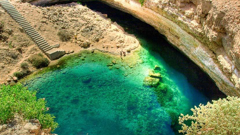 Bimmah Sinkhole, Bimmah Sinkhole, Oman