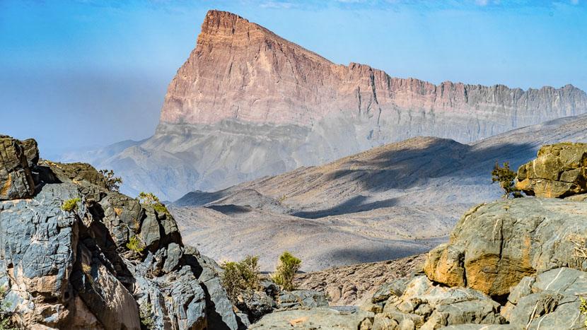 Jebel Shams, Monts Hajar, Oman