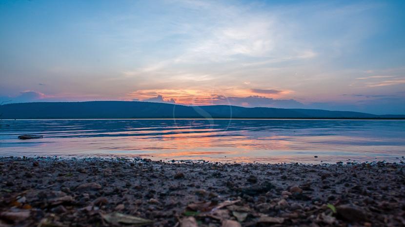 Safari en 4x4 dans le parc national du lac Mburo, Lac Mburo, Ouganda