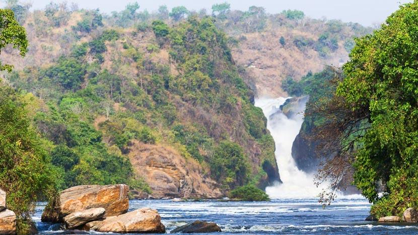 Safari en 4x4 dans le parc national de Murchison Falls, Murchison Falls, Ouganda