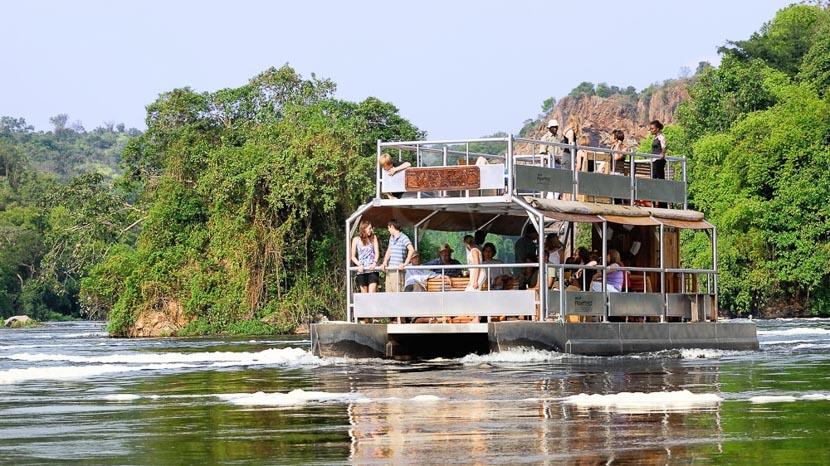 Le Nil Victoria, Excursion sur le Nil, Ouganda