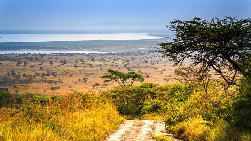 Parc national Queen Elizabeth, Lac Edward dans le Parc Queen Elizabeth, Ouganda