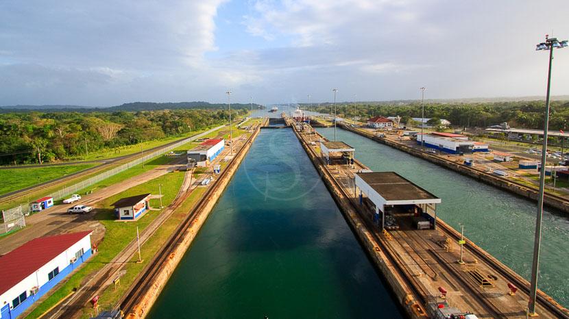 Le canal de Panama, Canal de Panama, Panama