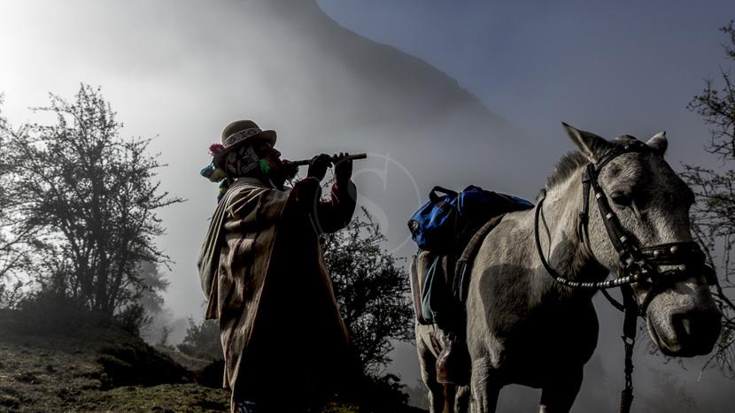 Communautés et villages de la Vallée sacrée, Trek dans la vallée sacrée, Pérou