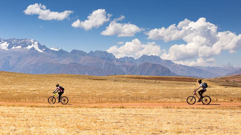 Exploration de la Vallée sacrée en VTT, Explora Valle Sagrado, Pérou © Explora