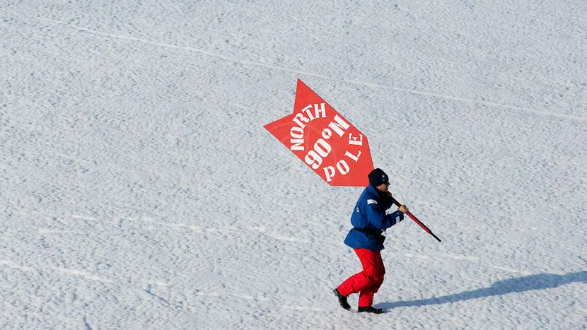 Le Pôle Nord géographique, The Victory, Pôle Nord © John Weller
