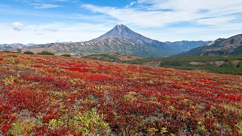 Randonnées des volcans du Sud classés par l'UNESCO, Ambiance du Kamtchatka, Russie