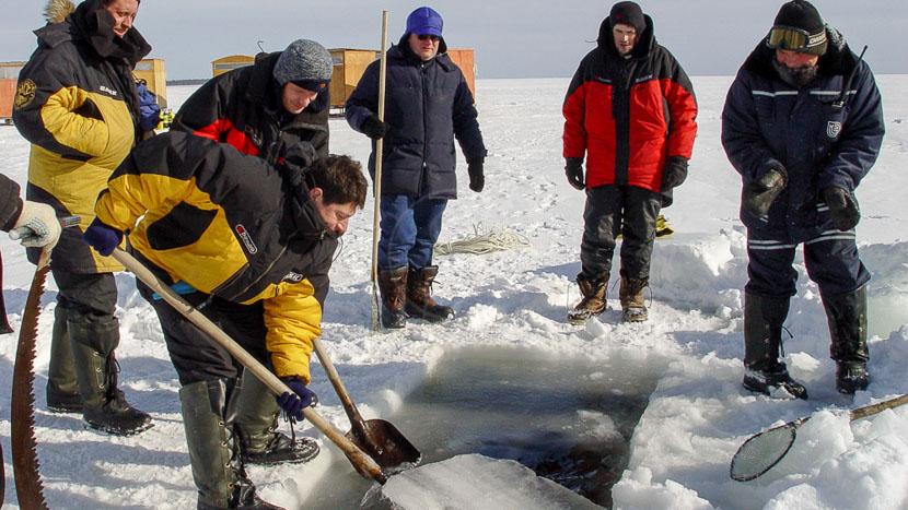 Plongée en mer blanche, Plongée en Mer Blanche, Russie