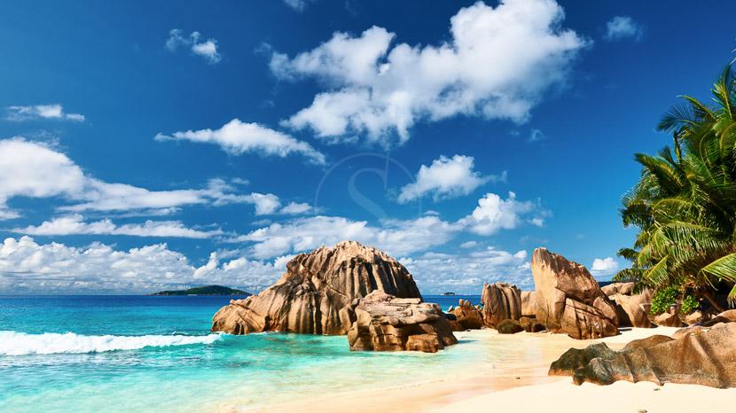 La mythique Anse Source d'Argent, Ile de La Digue, Seychelles