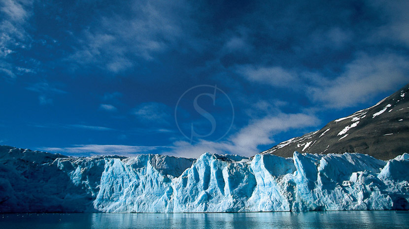 Introduction au Spitzberg, Glacier du Spitzberg, Norvège © Paul Goldstein