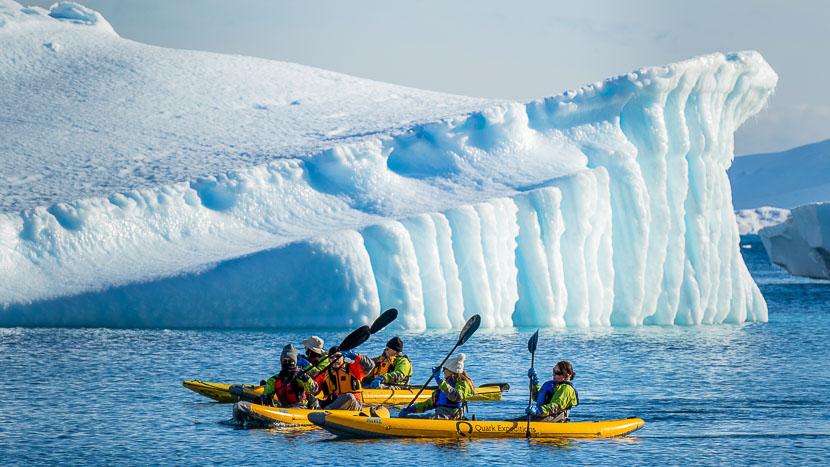 Excursion en kayak pneumatique, Excursion en kayak pneumatique © Quark Expeditions
