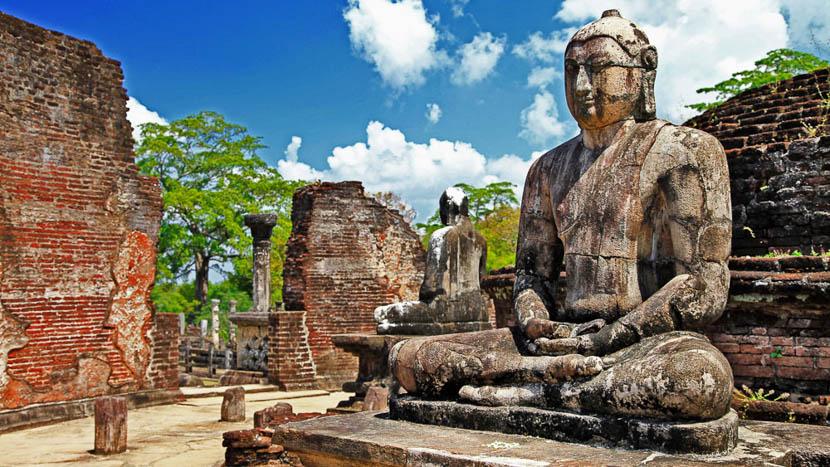 Triangle culturel, Temple de Polonnaruwa, Sri Lanka