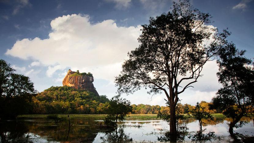 Triangle culturel, Sigiriya (Le rocher du Lion), Sri Lanka